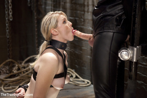 Sweet sexy slave tied, fingered and fuck - XXX Dessert - Picture 6