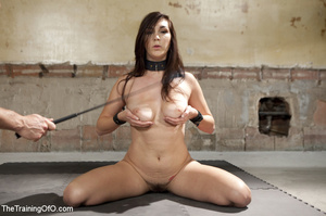 Sexy girl slave made to titty fuck and s - XXX Dessert - Picture 7