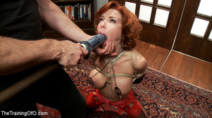 Hot blonde tied with rope and dominated  - XXX Dessert - Picture 2