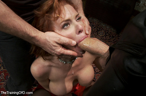 Hot blonde tied with rope and dominated  - XXX Dessert - Picture 4