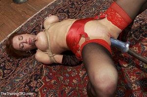Hot blonde tied with rope and dominated  - XXX Dessert - Picture 10