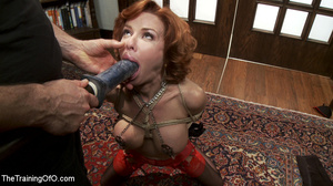 Hot blonde tied with rope and dominated  - XXX Dessert - Picture 14