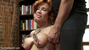 Hot blonde tied with rope and dominated  - XXX Dessert - Picture 15