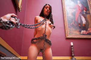 Kinky chick racked, tied, suspended made - XXX Dessert - Picture 1