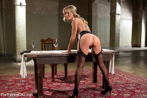 Cute blonde sucks and obeys her master i - XXX Dessert - Picture 2