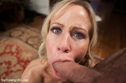 tattooed blonde doing commanded
