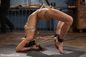 Kinky chick racked, tied, suspended made - XXX Dessert - Picture 9
