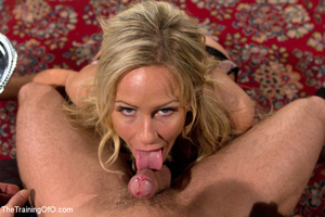 Cute blonde sucks and obeys her master i - XXX Dessert - Picture 9