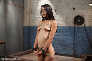 Kinky chick racked, tied, suspended made - XXX Dessert - Picture 15