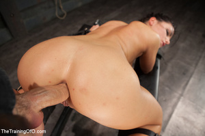 Hot slim babe roped and handled gets big - XXX Dessert - Picture 12