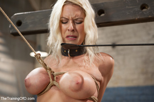 Sweet tits blonde chick gets tied, domin - XXX Dessert - Picture 6