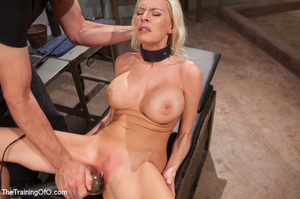 Sweet tits blonde chick gets tied, domin - XXX Dessert - Picture 10