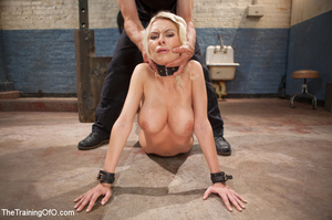 Sweet tits blonde chick gets tied, domin - XXX Dessert - Picture 13