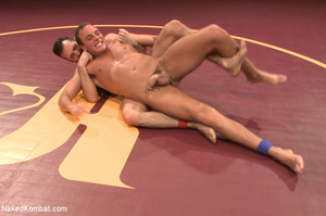 Hairy dude wrestle with cute stud as the - XXX Dessert - Picture 3