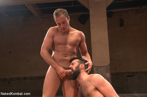Hairy dude wrestle with cute stud as the - XXX Dessert - Picture 10