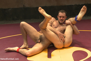 Well built guys wrestle and strip each o - XXX Dessert - Picture 4