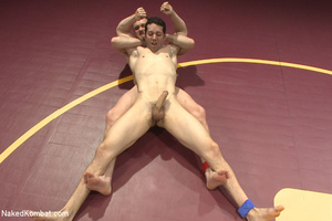 Well built guys wrestle and strip each o - XXX Dessert - Picture 6
