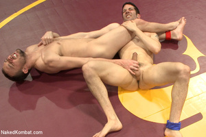 Well built guys wrestle and strip each o - XXX Dessert - Picture 7