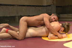 Sexy battle as two male studs fight and  - XXX Dessert - Picture 7