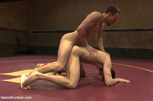 Well built guys wrestle and strip each o - XXX Dessert - Picture 9