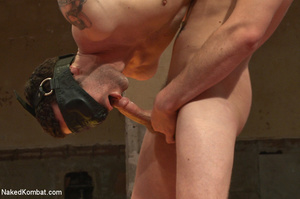 Well built guys wrestle and strip each o - XXX Dessert - Picture 11