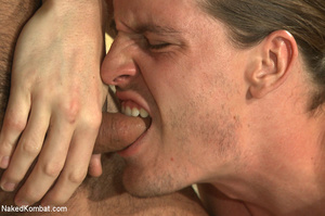 Sexy battle as two male studs fight and  - XXX Dessert - Picture 11