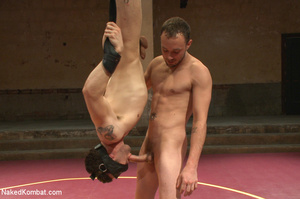 Well built guys wrestle and strip each o - XXX Dessert - Picture 12