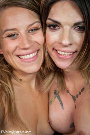Two hot tattooed beauties lick and suck  - XXX Dessert - Picture 15