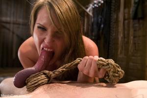 Blonde bdsm fan drilling hard her lover' - XXX Dessert - Picture 10