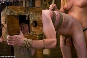 Blonde bdsm fan drilling hard her lover' - XXX Dessert - Picture 11