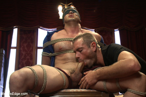 Hot stopped roped gets sweet blowjob and - XXX Dessert - Picture 1