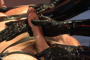 Cute guy strapped down is squeezed, stok - XXX Dessert - Picture 7