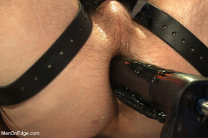 Cute guy strapped down is squeezed, stok - XXX Dessert - Picture 14