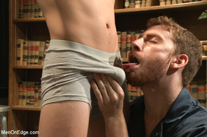 Hot stud roped and hung in class gets hi - XXX Dessert - Picture 3