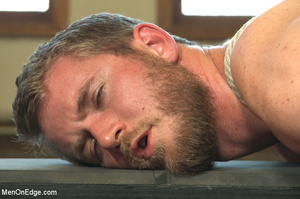 Horny guy strapped and bound gets ass fu - XXX Dessert - Picture 10