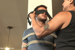 Dude blindfolded, whipped, tickled and h - XXX Dessert - Picture 1