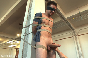 Dude blindfolded, whipped, tickled and h - XXX Dessert - Picture 3