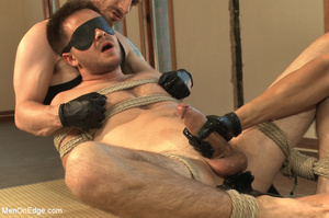 Dude blindfolded, whipped, tickled and h - XXX Dessert - Picture 12