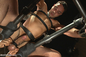 Slim sexy dude gets racked and bound wit - XXX Dessert - Picture 8