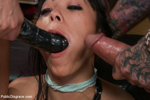 Sweet babe gets her mouth, asshole and c - XXX Dessert - Picture 8