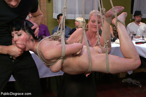 People watching as babe is stripped, rop - XXX Dessert - Picture 8
