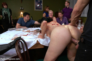 People watching as babe is stripped, rop - XXX Dessert - Picture 9