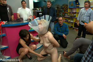 Blonde treated as a dog in public then a - XXX Dessert - Picture 9