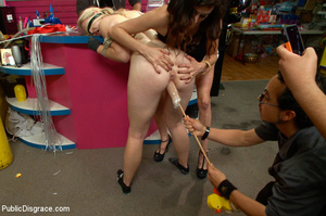 Blonde treated as a dog in public then a - XXX Dessert - Picture 12