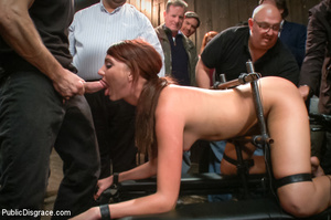 Blonde and brunette bound and poked with - XXX Dessert - Picture 10