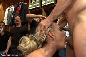 Nude blonde gets box on head as she assa - XXX Dessert - Picture 5