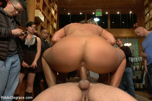 Nude blonde gets box on head as she assa - XXX Dessert - Picture 10
