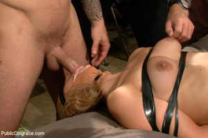 Blonde gets caned, roped and clipped pub - XXX Dessert - Picture 11