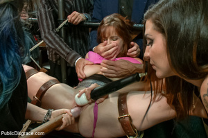 Lusty babe roped and bound gets fondled, - XXX Dessert - Picture 10
