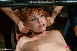 Lusty babe roped and bound gets fondled, - XXX Dessert - Picture 11